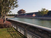 Sungai yang mengelilingi Kota Terlarang China (Elvan/detikTravel)