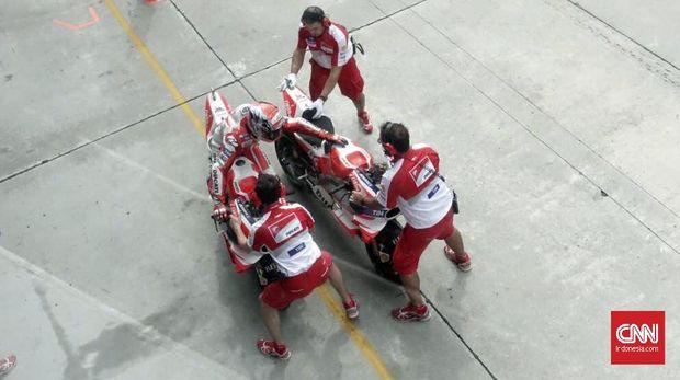 Dua Pebalap Ducati Belum Puas Jalani Tes MotoGP Valencia