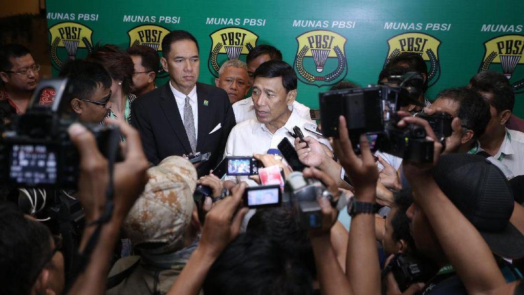 Soal Visi Misi sebagai Ketum Baru PBSI, Wiranto: Ini Kerja Tim