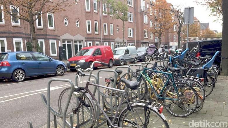 Pojok kota Amsterdam (Foto: Ken Yunita/detikTravel)