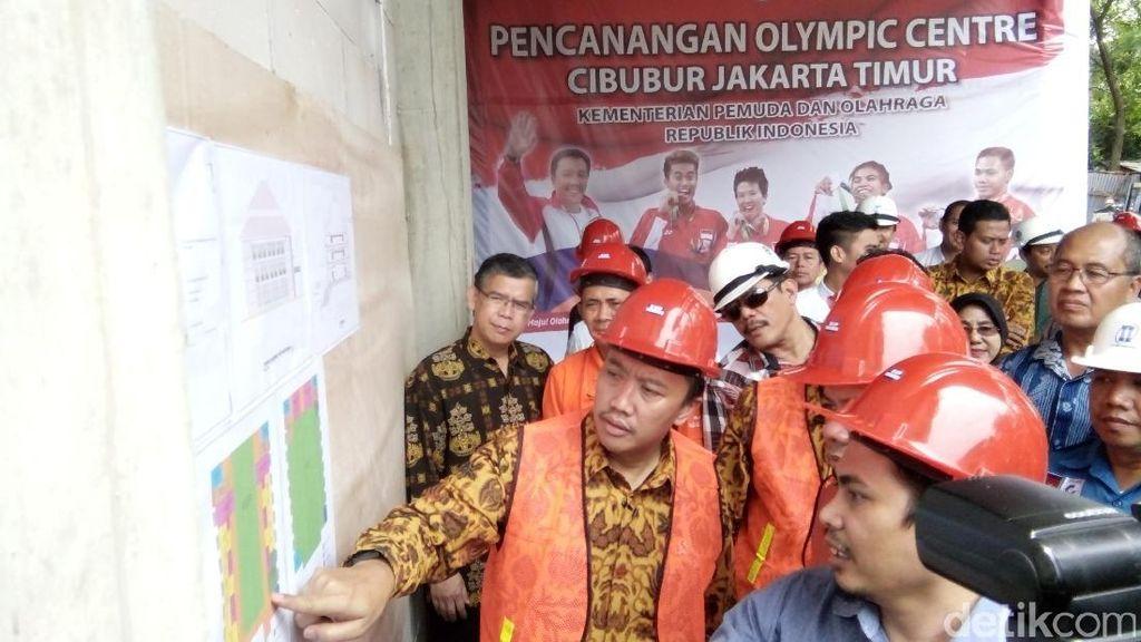 Olympic Center Cibubur: Buat Atlet Indonesia untuk Capai Prestasi Tertinggi
