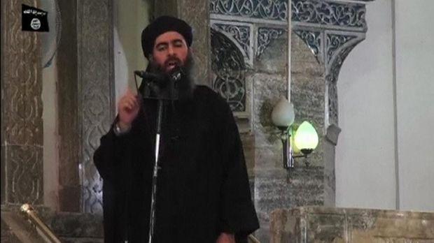 Pemimpin ISIS Abu Bakar al-Baghdadi.