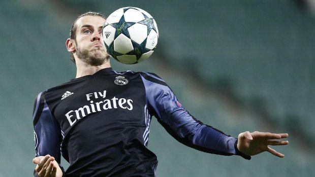 Gareth Bale masih bisa bersaing dengan para pemain lainnya menjadi top skor Liga Champions musim ini. (