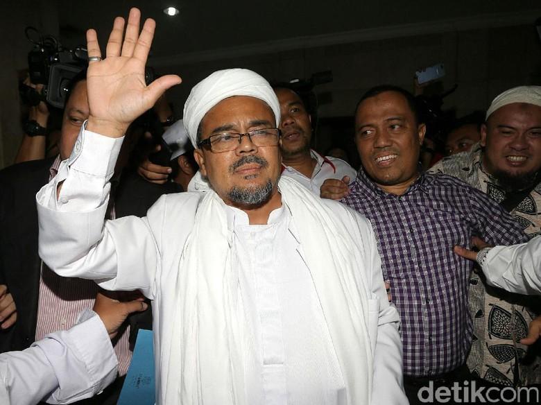 Habib Rizieq Diminta Pulang Sendiri
