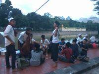 Massa Aksi Demo 4 November dari Daerah Terus Berdatangan di Istiqlal
