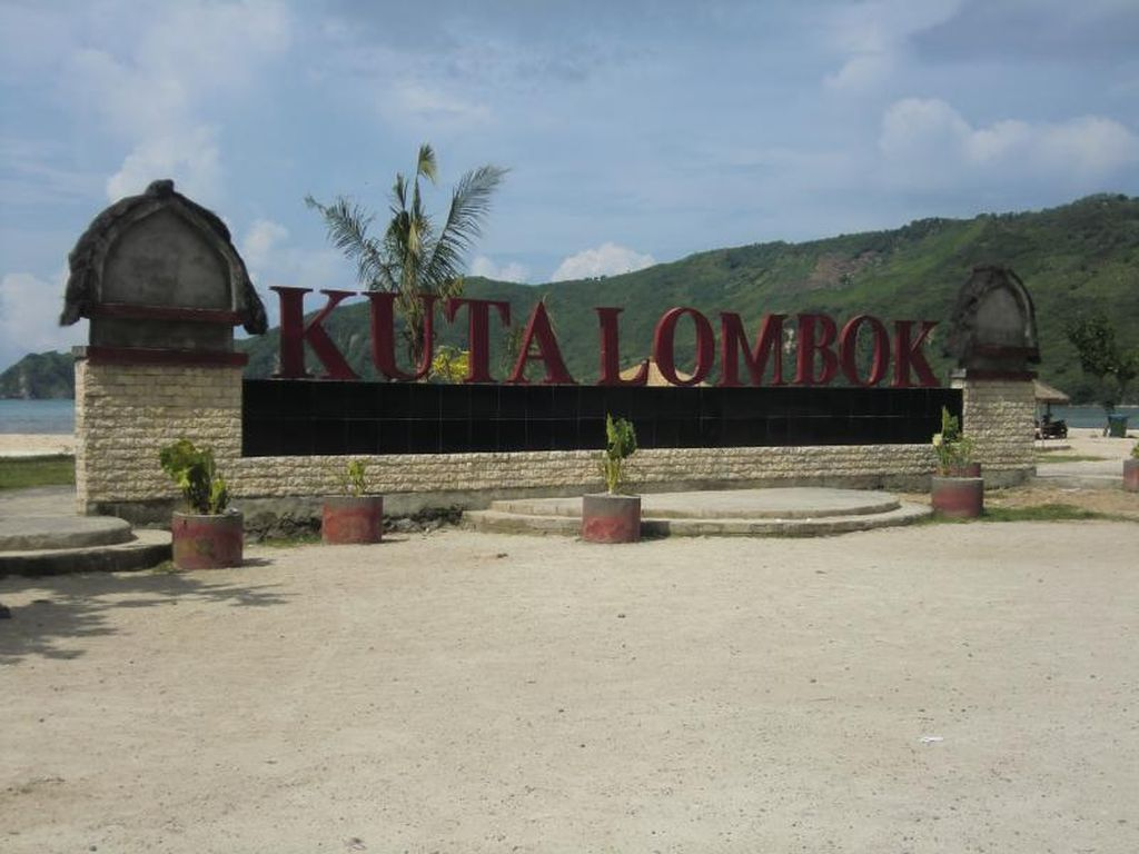 Mandalika di Lombok, tempat MotoGP Indonesia (Kurnia/detikTravel)