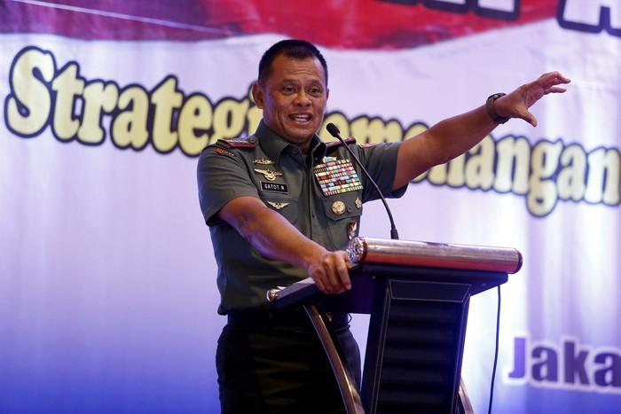 Panglima TNI Jenderal Gatot Nurmantyo (Rengga Sancaya/detikcom)