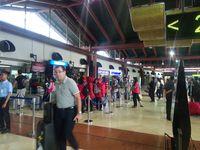 Suasana Bandara Soekarno-Hatta Jelang 4 November: Lengang