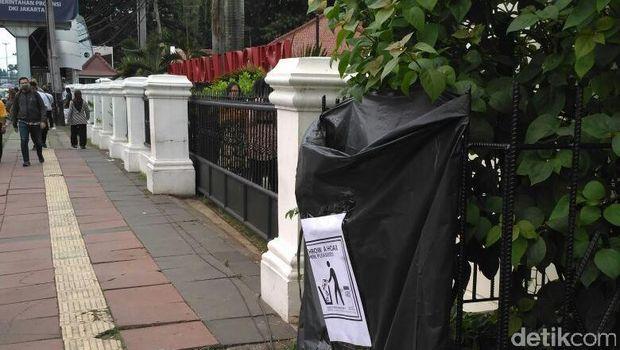 Tertibnya Demo 4 November, Jalur yang Dilewati Demonstran Bersih dari Sampah