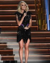 Ini Penampilan Carrie Underwood Pasca Mendapat 40 Jahitan di Wajah
