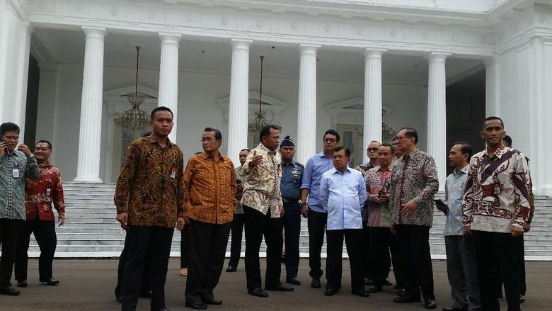 Wapres JK Bertemu Perwakilan Massa Demo 4 November
