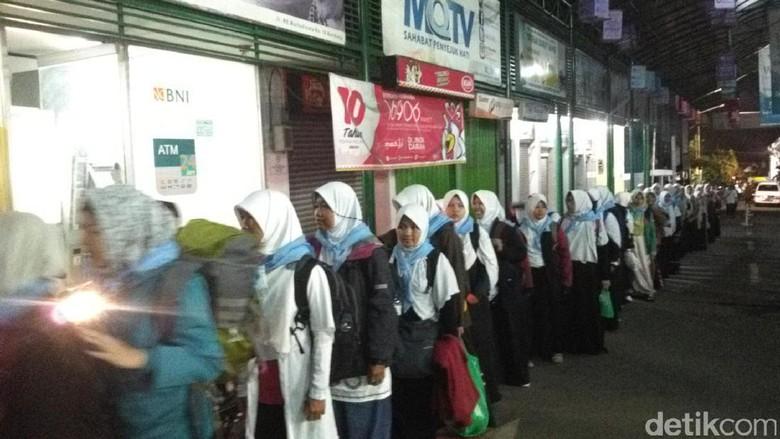 Santri Daarut Tauhid Bertolak ke Jakarta, Bawa Pesan Damai Demo 4 November