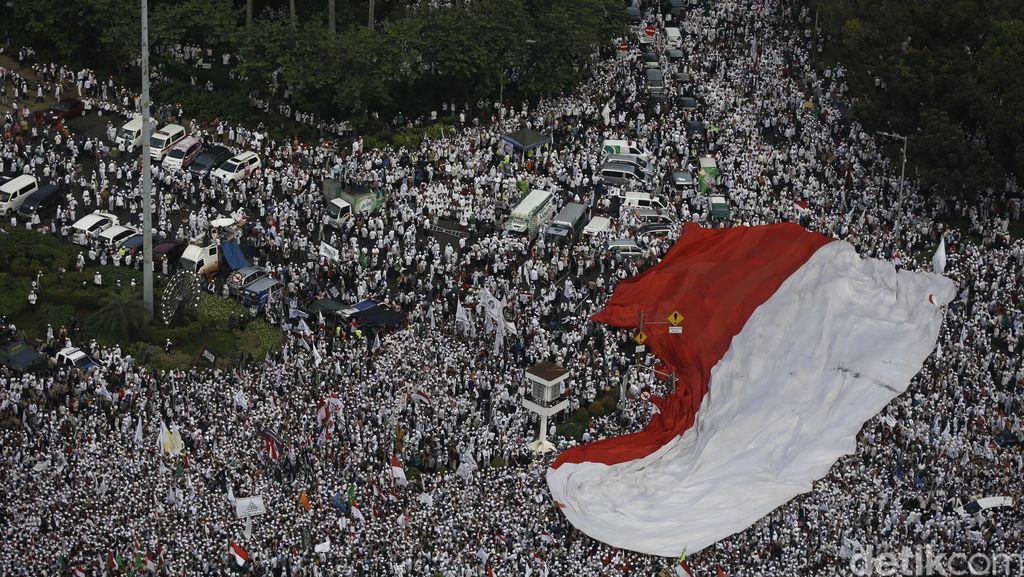 Deretan Momen Menarik Demo 4 November