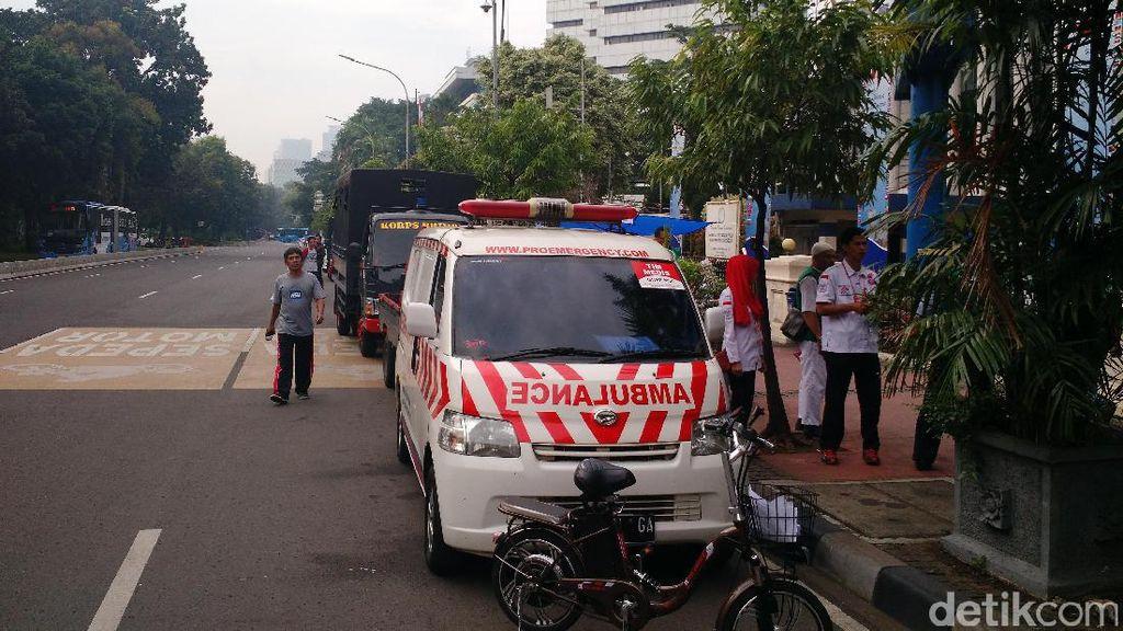Kekurangan Oksigen Jadi Masalah Kesehatan Utama Massa di Demo 4 November