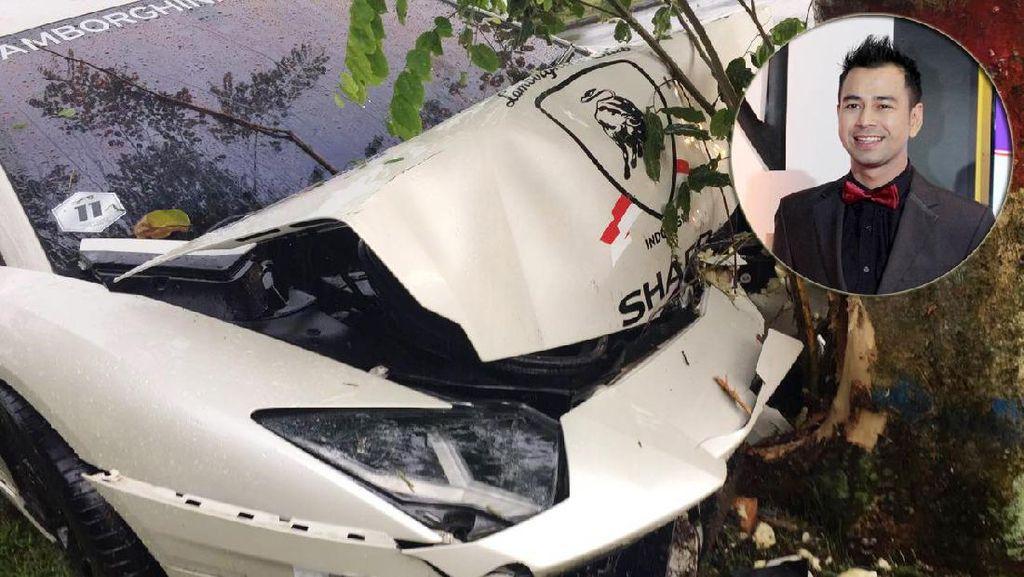 Sempat Kecelakaan hingga Ringsek, Raffi Ahmad Masih Berniat Pakai Lamborghini?