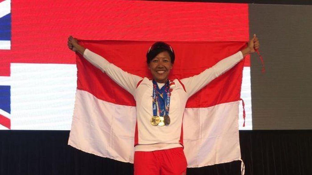 Dedeh Erawati Asal RI Rebut Medali Emas di Perth