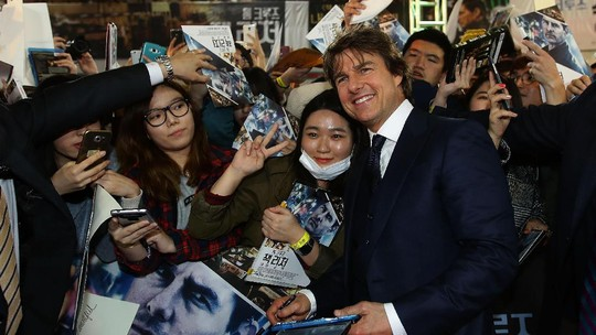 Daebak! Aksi Tom Cruise dan Infinite di Premiere Jack Reacher: Never Go Back
