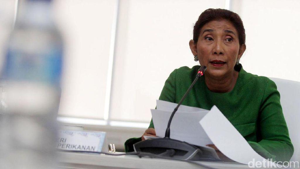 Pejabat Bakamla Ditangkap KPK, Susi: Mudah-mudahan yang Lain Jera