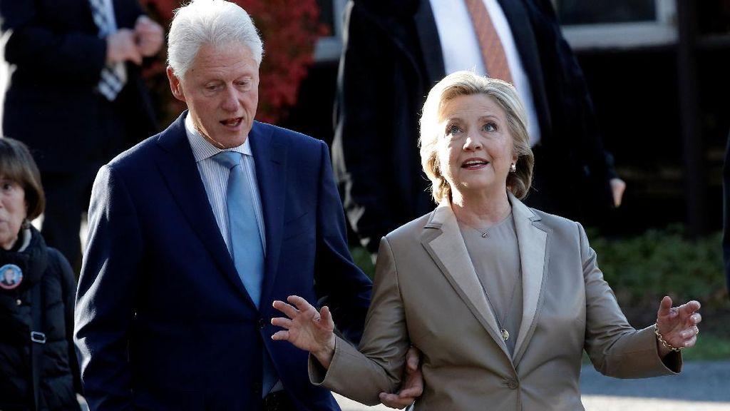 Bahan Peledak Ditemukan di Kotak Surat Rumah Bill dan Hillary Clinton