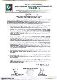 Ditandatangani Mahfud Md Ini Sikap Kahmi Atas Ditangkapnya