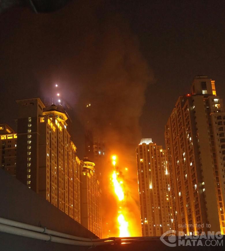 Lalin Macet Akibat Kebakaran Neo Soho, Polisi: Pengendara