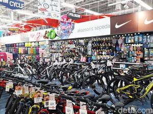 Diskon 30% Aneka Sepeda di Transmart Carrefour