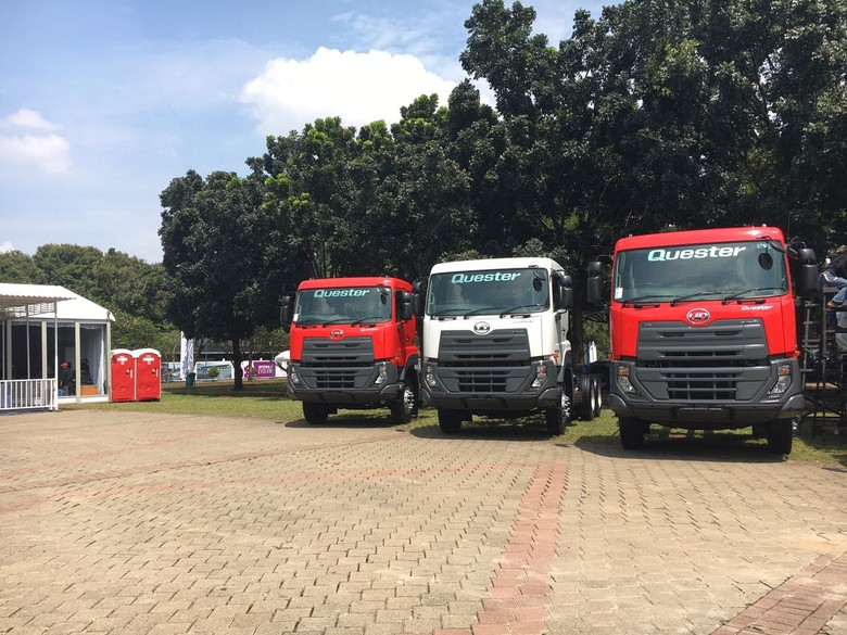 UD Trucks. Foto: Dina Rayanti