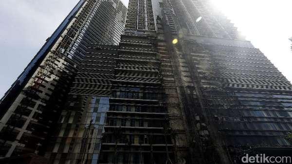 Agung Podomoro Land: Kebakaran Hanya Terjadi di Sisi Muka Apartemen Soho