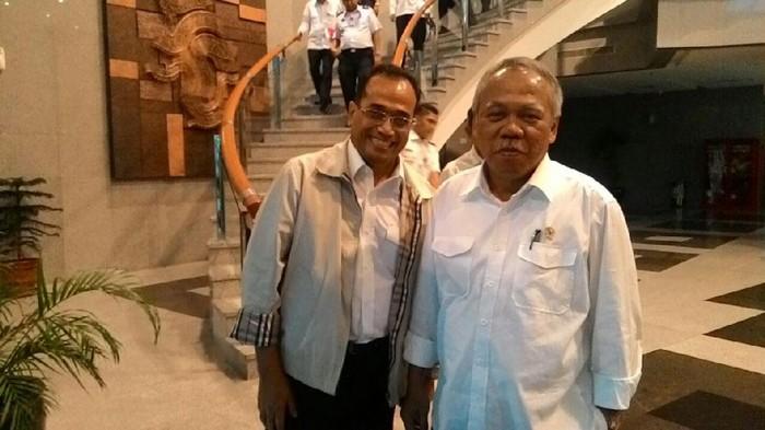 Budi Karya Sumadi dan Basuki Hadimuljono