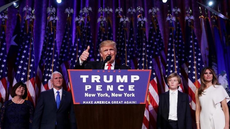Kontroversi Kemenangan Trump di Pilpres AS