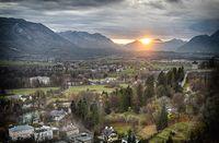 Landscape Salzburg, Swiss dijepret dengan mode Manual dan diolah menjadi HDR di komputer.