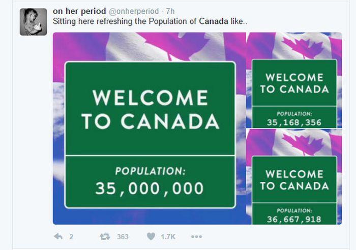 Migrasi ke Kanada Gara-gara Trump Jadi Meme Kocak