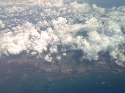 Mengabadikan Potret Langit Jayapura-Jakarta