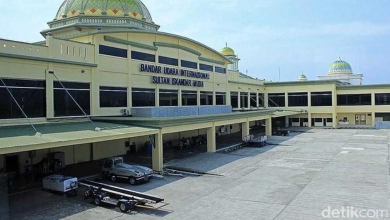 Foto: Ilustrasi Bandara Sultan Iskandar Muda (Randy/detikTravel)