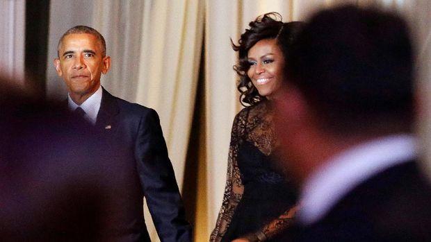 Michelle Obama menemani Barack Obama dua periode memerintah Amerika Serikat.