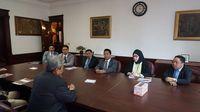Dubes Sonny menerima delegasi DPR di Kedubes RI