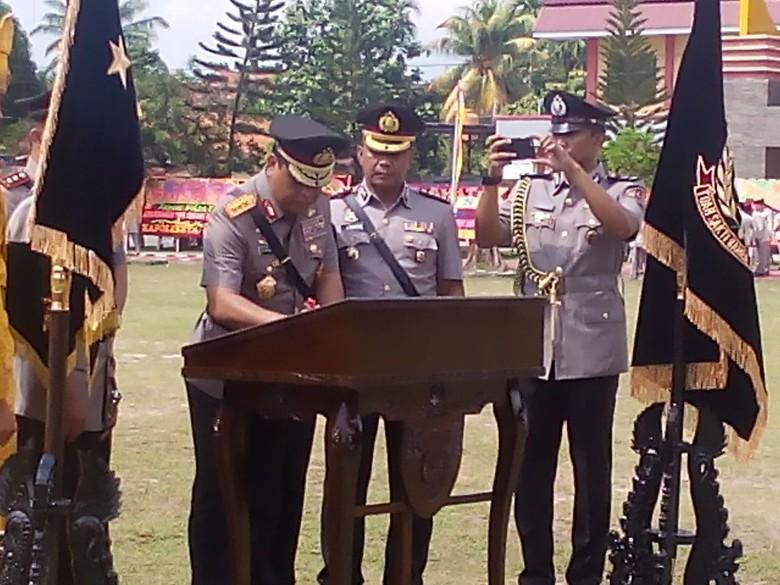 Wakapolri Komjen Syafruddin Resmikan Polda Riau Menjadi Tipe A