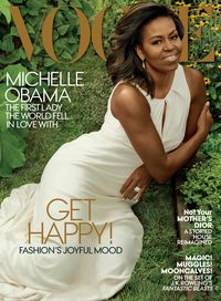 Michelle Obama di majalah Vogue.