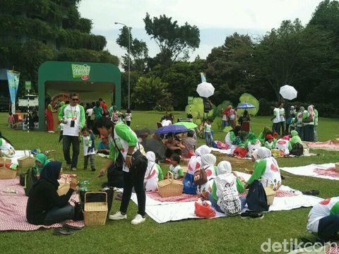 Piknik Sehat bersama SGM Eksplor (Foto: Reza/detikHealth)