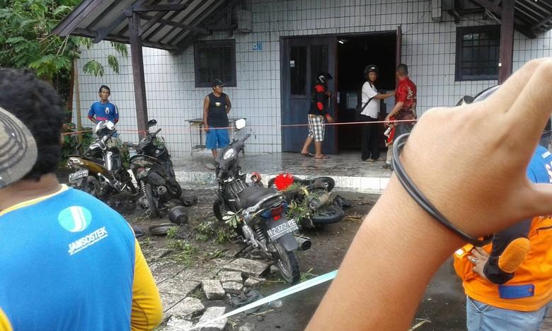 Kapolda Kaltim: Pelempar Bom Molotov Depan Gereja Oikumene Sudah Ditangkap