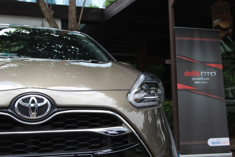 Toyota Sienta Foto: M Luthfi Andika