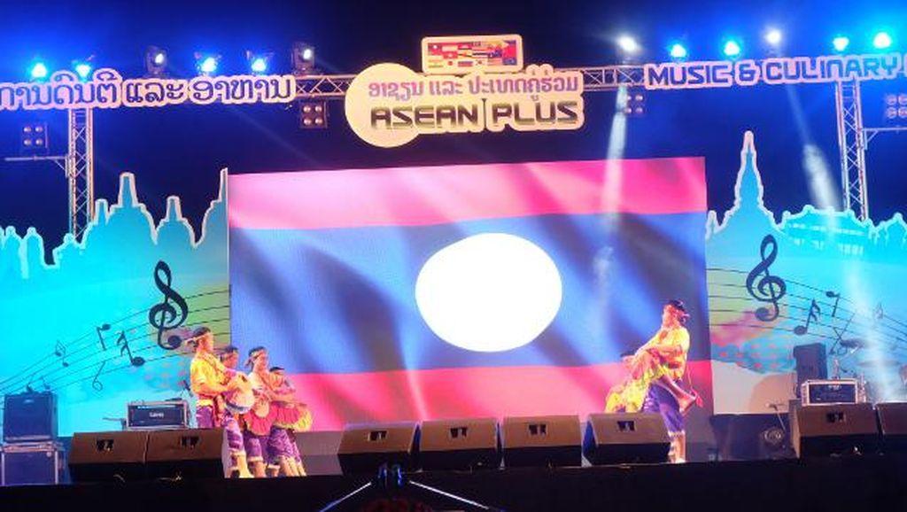 Musik Dangdut dan Pop Indonesia Meriahkan Pembukaan ASEAN Plus Music and Culinary Festival