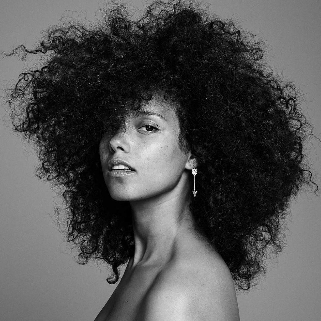 Alicia Keys Nyaris Tak Dikenali Gara-gara Potongan Rambut Ini