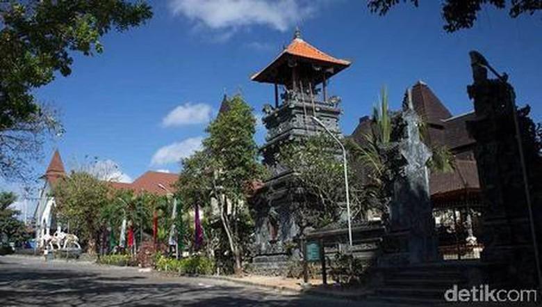 Komplek rumah peribadatan Puja Mandala di Bali (Randy/detikTravel)