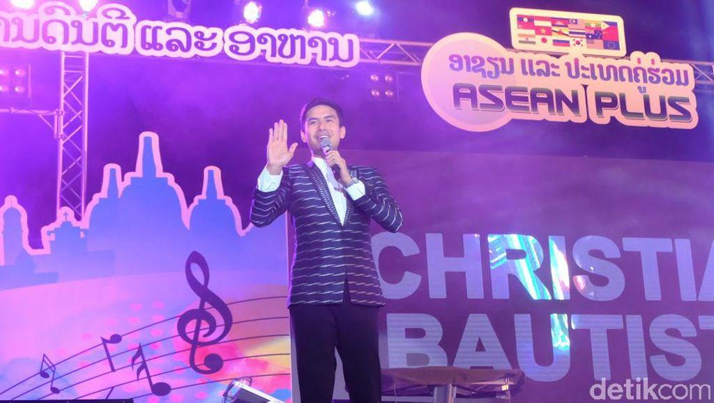 Pertama Kali  ke Laos, Christian Bautista Antusias Ingin Cicipi Kuliner Laos