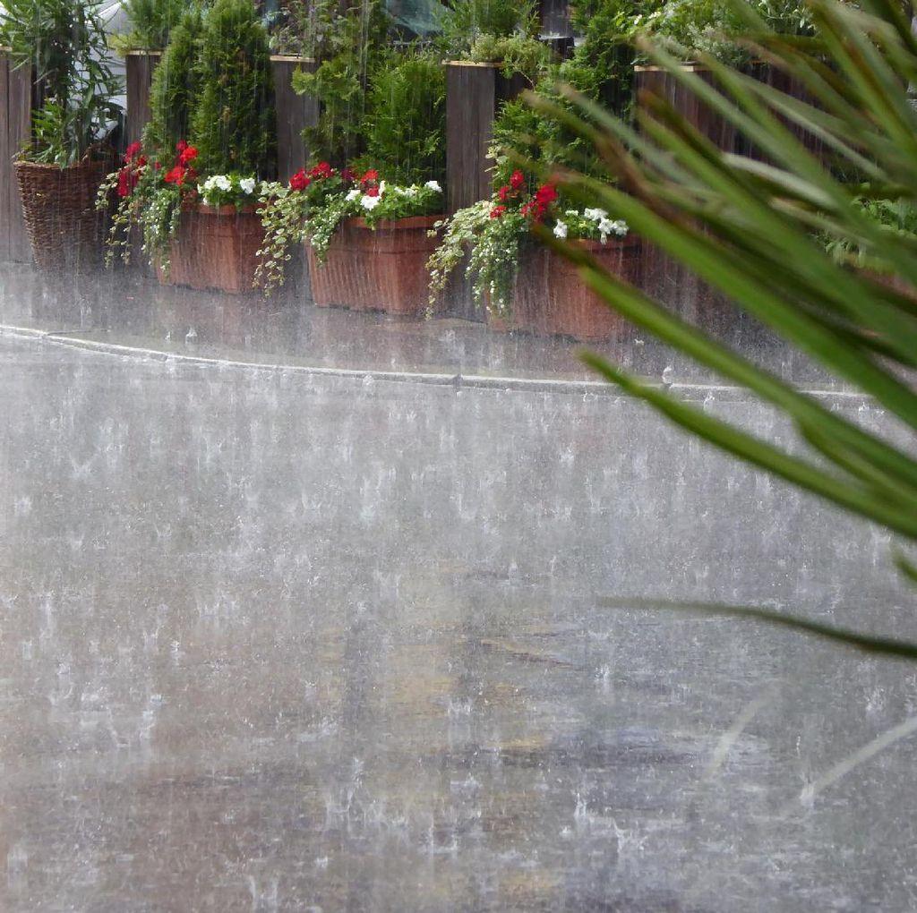 BMKG Imbau Warga Jakarta Waspadai Hujan dan Angin Kencang Hari Ini