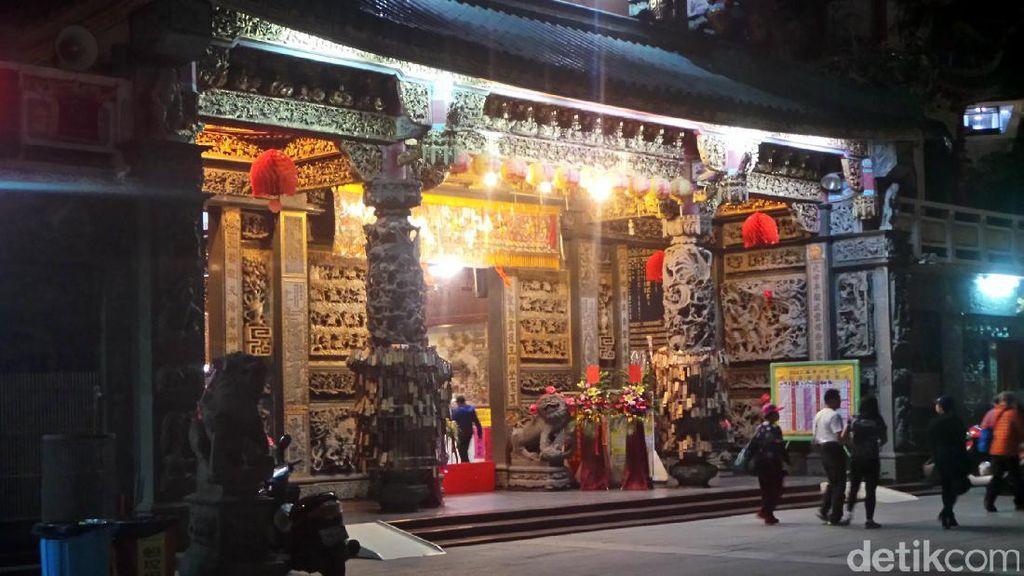 Kelenteng Legendaris Berusia 350 Tahun di Taiwan