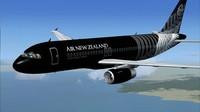 Maskapai Air New Zealand yang identik dengan pesawat hitamnya ini juga kerap nongkrong di urutan teratas di kategori teraman dunia. (Air New Zealand/Youtube)