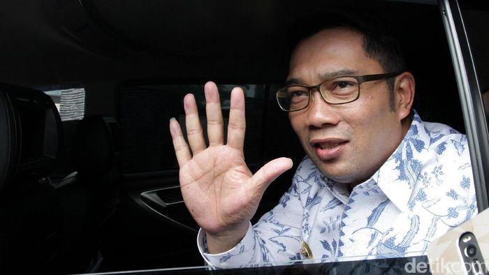 Wali Kota Bandung Ridwan Kamil menyambangi KPK. Ridwan Kamil mengikuti diskusi publik tentang aplikasi JAGA yang pernah diluncurkan KPK.