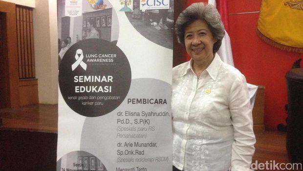 Megawati Tanto, salah seorang penyintas dua jenis kanker.